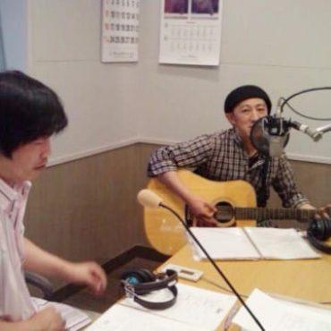 ラジオ放送にて